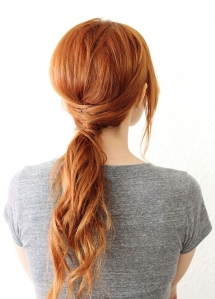 Evening pony-tail - Fave hairstyles