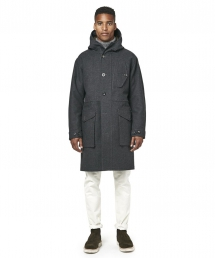 Exclusive Private White V.C Wool Parka - Man Style
