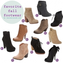 Fall Booties - Shoes