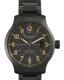 Filson 43mm Mackinaw Field Gunmetal Coated Watch - Watches