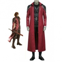 Final Fantasy VII Genesis Rhapsodos Cosplay Costume - Final Fantasy Cosplay Costumes