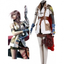Final Fantasy XIII Lightning Cosplay Costume - Final Fantasy Cosplay Costumes