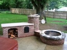 Firepit & smoker - Backyard ideas