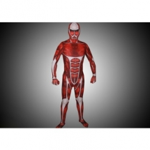 Flesh Muscle Man Lycra Multi-Color Zentai Suit -  Attack On Titan costumes