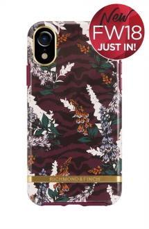 Floral Zebra iPhone XR Case - Phone Cases
