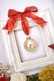 Framed Christmas Ornament  - Christmas Decoration