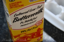 Freezing Butter Milk - Household Tips