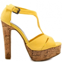 Gianna - Yellow Sandal - mis outfits