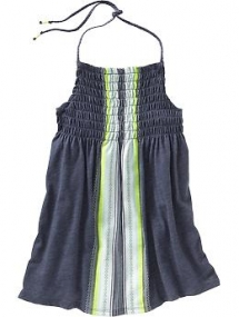 Girls Smocked Halter Top from Old Navy - For the kids
