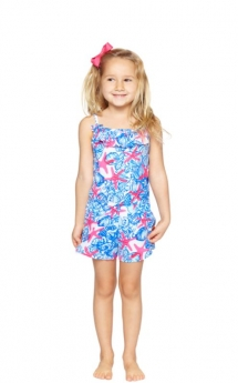 Girls Starfish Romper - For the little one