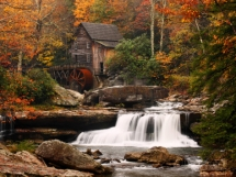 Glade Creek Mill, West Virginia - Art for home and cottage