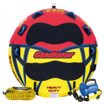 Gladiator 3-Rider Towable Tube - Watersports