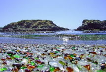 Glass Beach - Fort Bragg, California, USA - Beautiful places