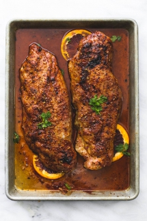 Glazed Pork Tenderloin - Cooking