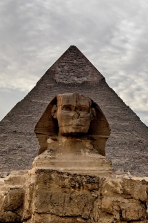 Great Sphinx of Giza and the Pyramid of Khafre in Egypt [photos] - Beautiful places