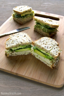 Green Goddess Roasted Turkey Sandwich - Sandwiches