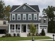 Grey/blue Home Exterior   House Exterior Options