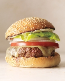 Grilled Tuna Burger - Recipes for the grill