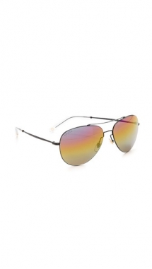 Gucci Rainbow Mirrored Aviator Sunglasses - Fave Clothing, Shoes & Accessories