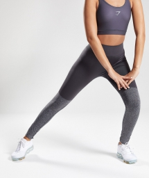 Gymshark Women's Two Tone Seamless Leggings - Activewear For The Gym