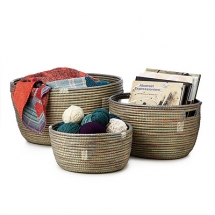 handmade nesting baskets - Home Accents