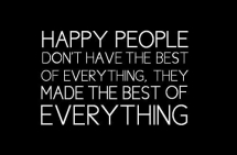 Happy People quote - Great Sayings & Quotes
