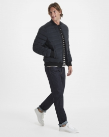 Harrison Stretch Down Bomber Jacket - Man Style