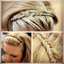 Headband Braid - Fave hairstyles