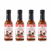 Heirloom Chiltepin Pepper Hot Sauce Bundle - 4 Pack - All Natural
