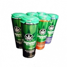 Hemp Oil Infused Energy Drink - Variety 6 Pack - All Natural