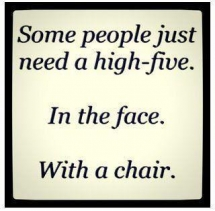High-Five with a Chair - Unassigned