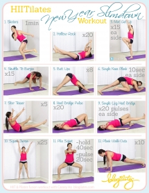 HIITilates Workout - Great Ways To Get Fit...If You Are Up For It!