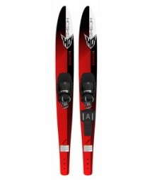 HO Burning Combo Waterskis 67 w/ Combo Contour & Rts Boots - Watersports