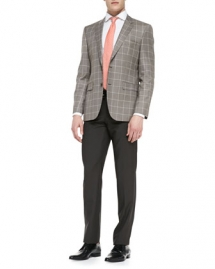 Houndstooth Windowpane 2-Button Blazer - Clothes make the man