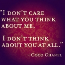 I don't care... - Quotes & other things