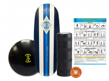 Indo Board Pro Training Package - Fitness Equipment for Home Gym