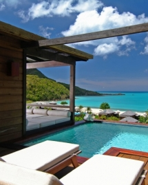 Beach hut and Infinity Pool.  - Architecture & Design