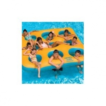 Inflatable island pool toy - Neat Products