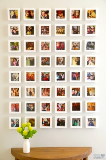 Instagram Wall - Ideas for the home