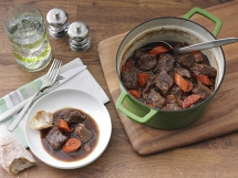 Irish Steak & Ale Stew - Tasty Grub