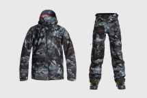 Isaora x Quiksilver Rare Earth Snowboarding Gear - Ski And Snowboard Gear