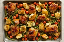 Italian Chicken Sheet Pan Supper - Tasty Grub