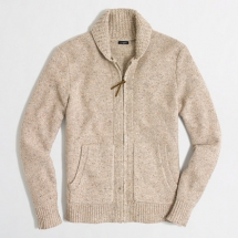 J Crew Men's full zip cardigan - Clothes make the man