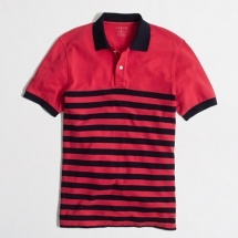 J Crew men's striped polo - Clothes