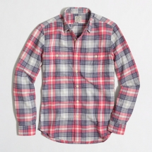 J Crew slim flannel workshirt - Clothes