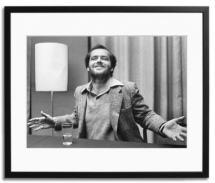 Jack Nicholson Expressing Himself Print - Art for home and cottage