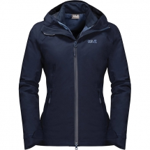 Jack Wolfskin Women's Aurora Sky 3 in 1 Jacket - My Fall Style