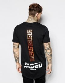 Jaded London T-Shirt With Back Logo - T-Shirts