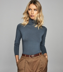 Jersey Rollneck Top - Comfy Clothes