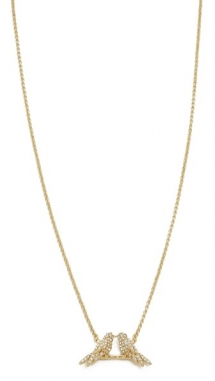 Kate Spade New York Cold Comforts Mini Pendant Necklace - Fave Clothing, Shoes & Accessories